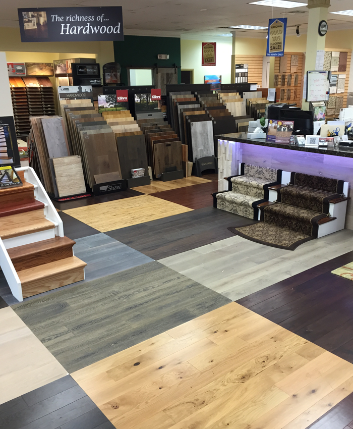 Come check out our huge selection of high quality hardwood today!