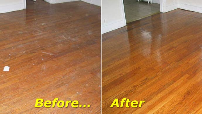 Refinishing your hardwood floors can bring the shine and elegance back to your floors.  Contact Abbey Carpet & Floor today!