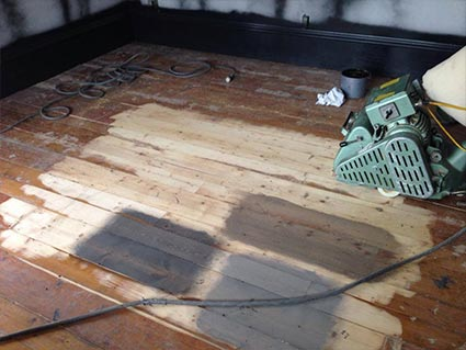 The hardwood under your old carpet can be brought back to life by our hardwood refinishing experts!  Call or stop by today and bring your floors back to life!
