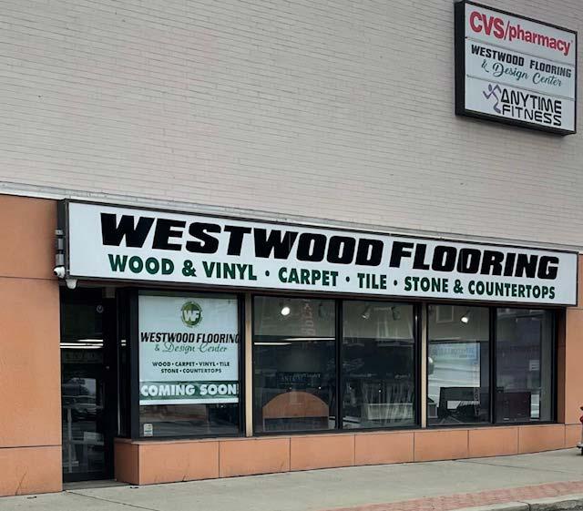 Exterior of Westood Flooring & Design Center in Elmsford