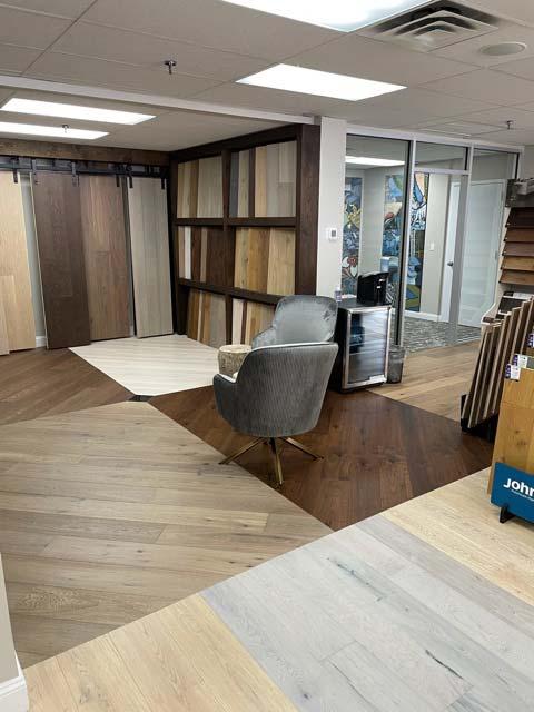 Westwood Flooring & Design Center showroom in Elmsford